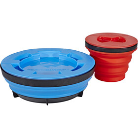 Sea to Summit X-Seal & Go Set L, royal blue/red
